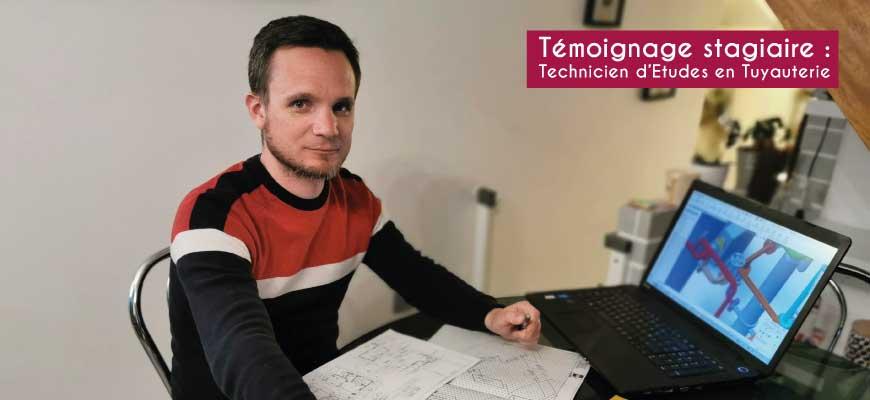 Nicolas Juret - FOREM Technicien d'Etudes en Tuyauterie