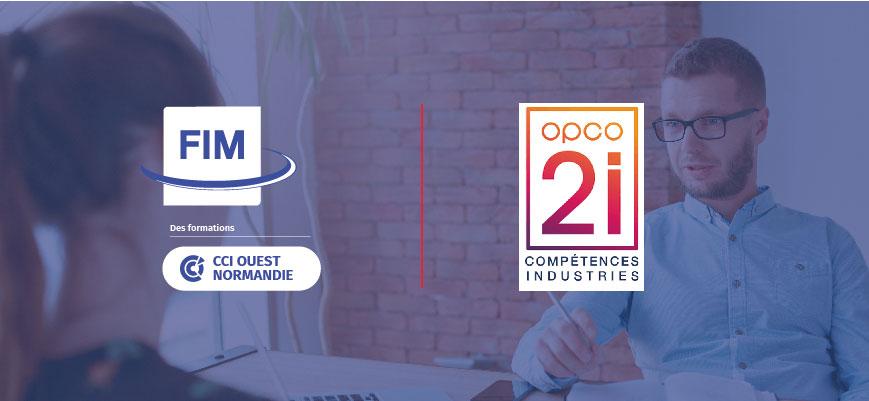 FIM CCI Formation Normandie partenaire OPCO 2i
